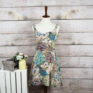 Lucca Couture Floral Blouson Dress Medium